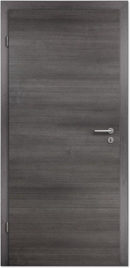 Zimmertür modern grau  Laminato Exclusiv CPL Scuro Fineline Quer Innentür Türenheld Tür ...