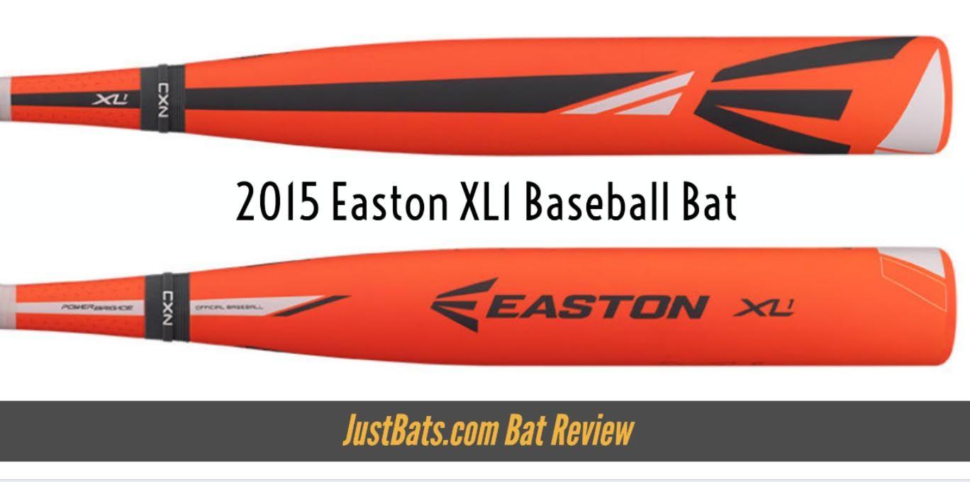 Bat Review 2015 Easton Xl1 Baseball Bat Baseball Bat Baseball Bat