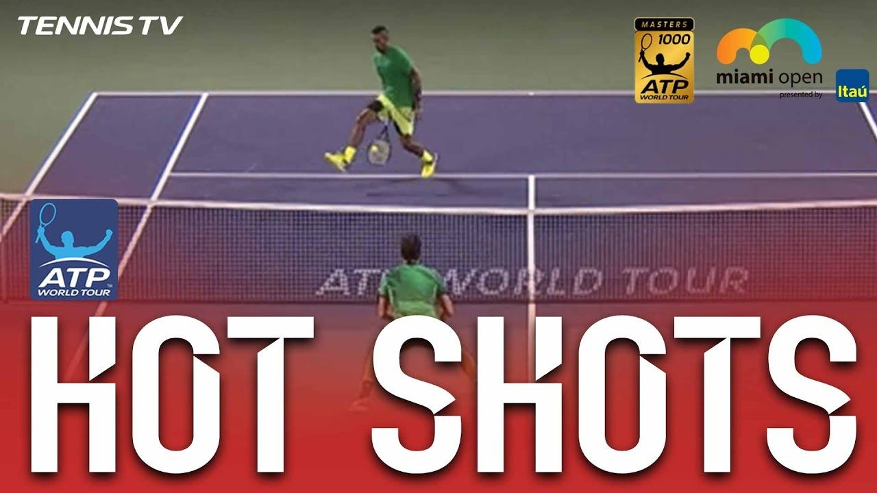 Atp Tennis News Kyrgios Pleased Hard Yards Are Paying Off Tennis Hot Shots Tours