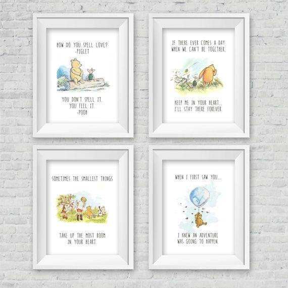 Klassische winnie puuh kindergarten birthday von designsbycassiecm minimi pinterest - Babyzimmer winnie pooh ...