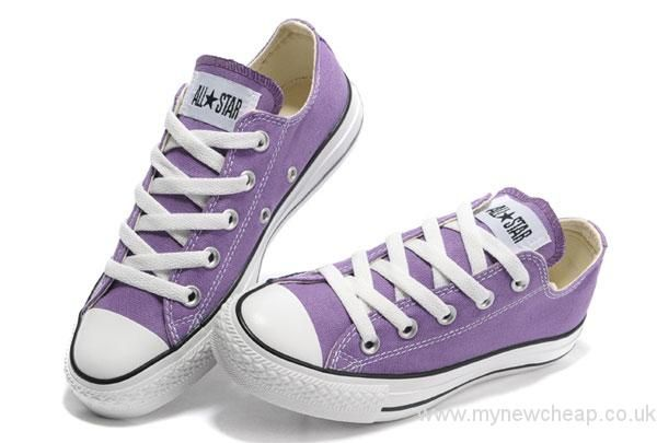 Converse All Star Chuck Taylor High Tops Classic Purple Canvas Sneakers Super Deals
