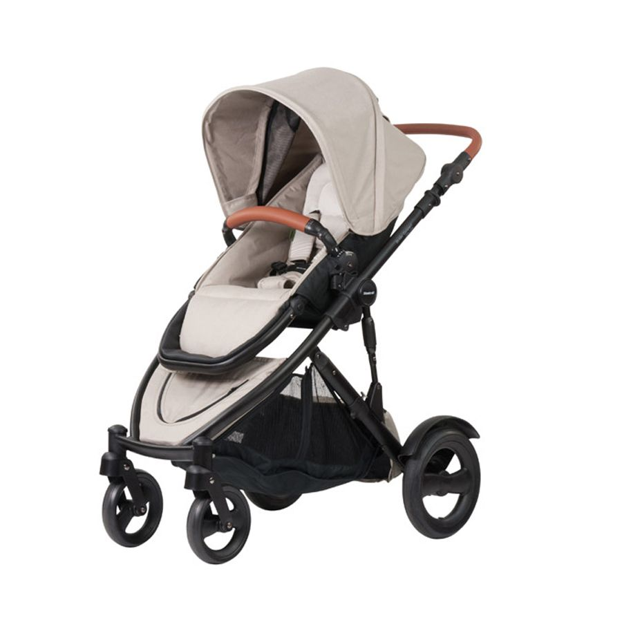 Steelcraft Strider Compact Deluxe Edition Natural Linen Babies  # Ragla Muebles Infantiles