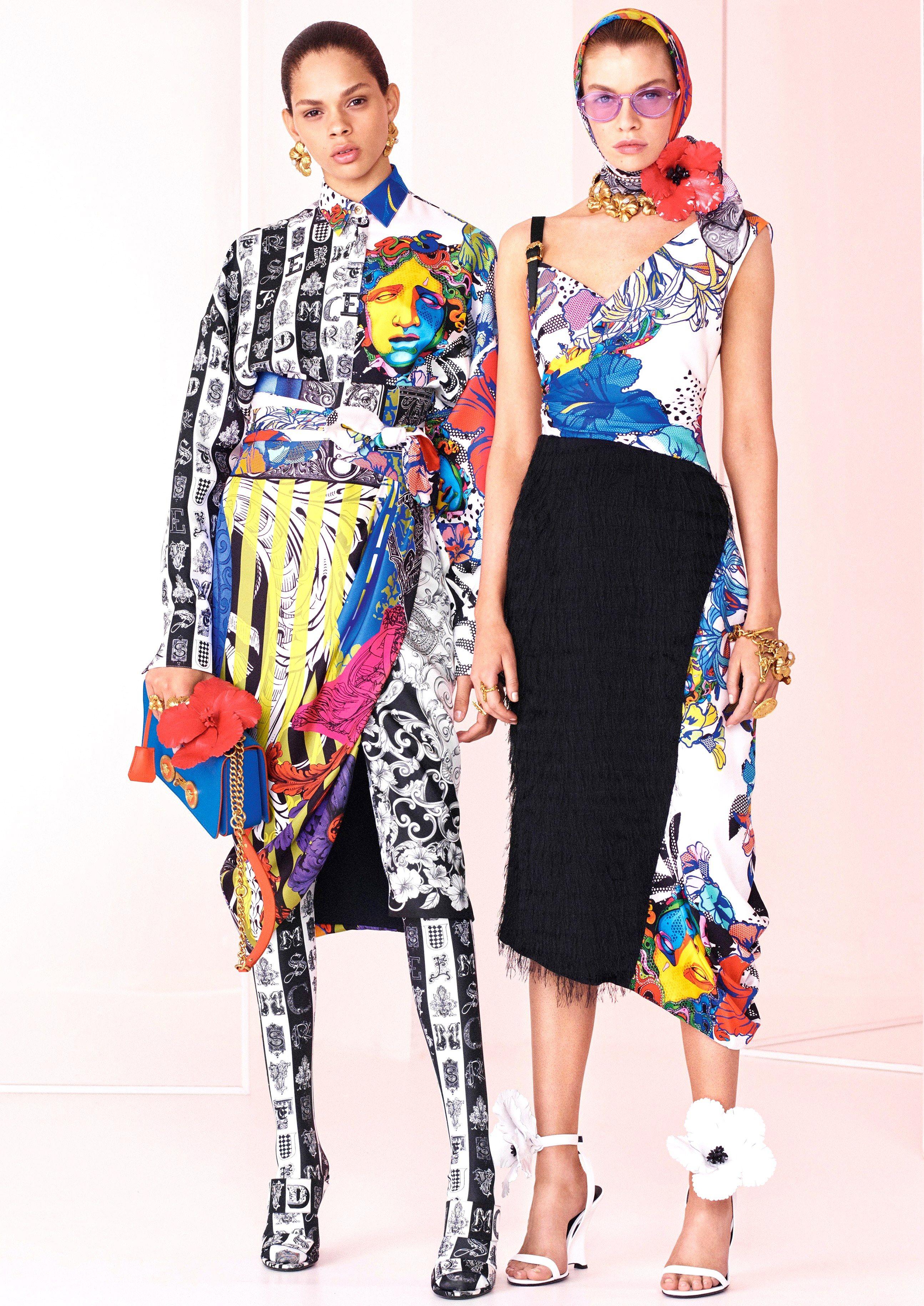 Collection : VERSACE RESORT 2019***  Versace fashion, Fashion