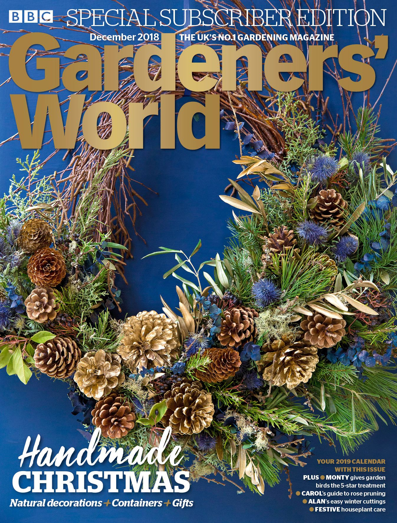 Cover photo Isabelle Palmer s handmade wreath by Sarah Cuttle