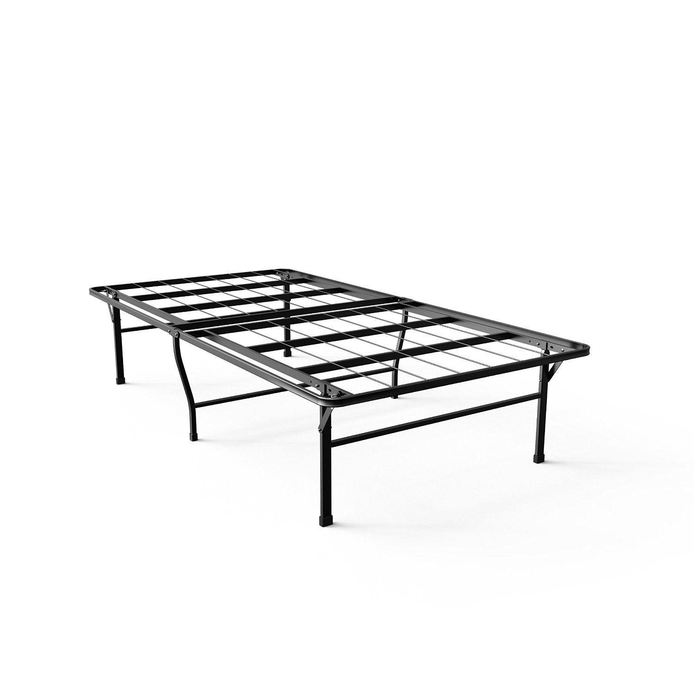 amazon com zinus 16 inch smartbase deluxe mattress foundation 2