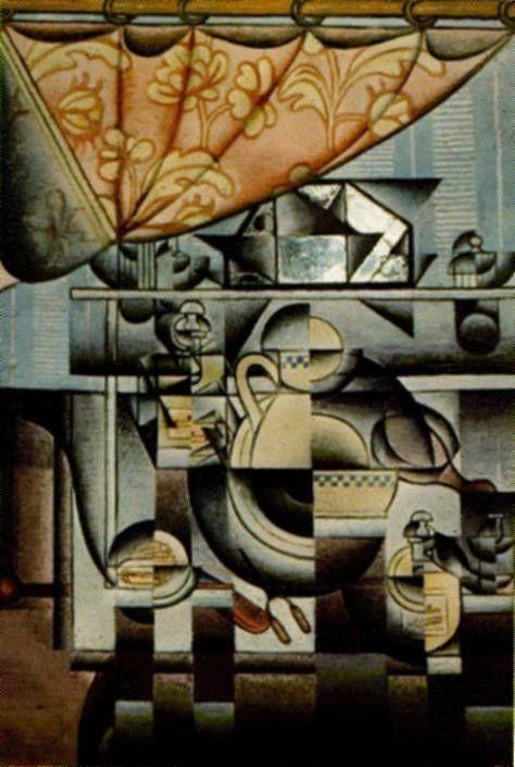 Torero by Juan Gris Giclee Fine ArtPrint Reproduction on Canvas