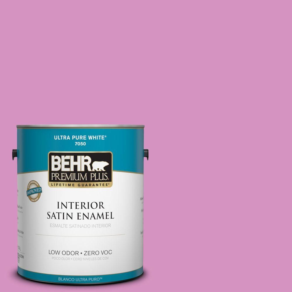 Nice #680B 4 Pressed Flower Satin Enamel Zero VOC Interior Paint And Primer In  One