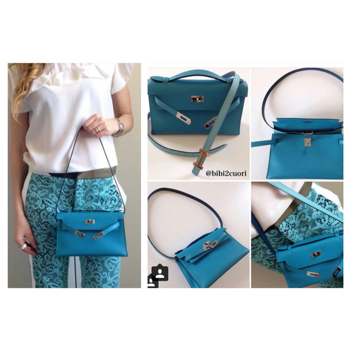 Using hermes belt as a strap for kelly pochette mini Kelly  c379cc5723a99