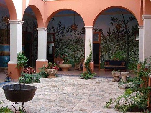 Hotel San Angel Courtyard