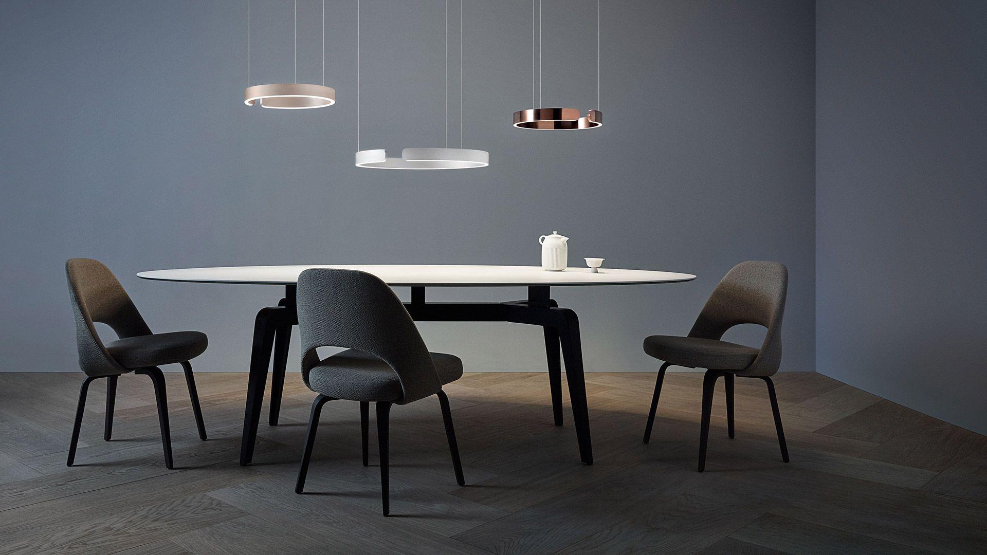 led esstischlampe design rund in 2020  lichtdesign