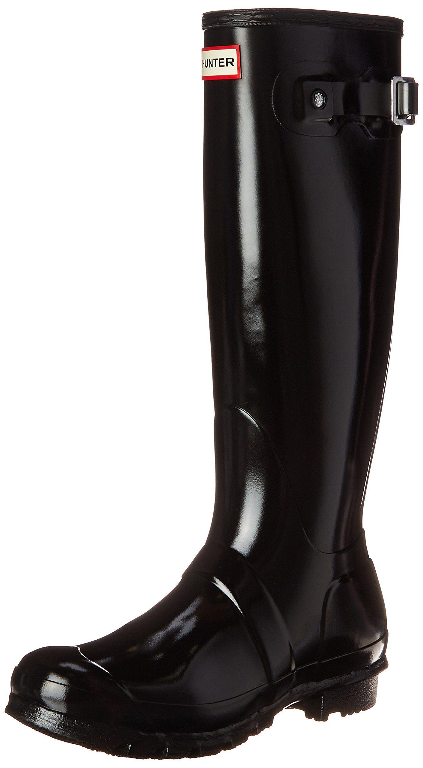 fde1051d7b3834 Hunter Original Tall Gloss W23616 Damen Gummistiefel  Hunter  Amazon.de   Schuhe   Handtaschen