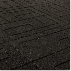 Brava Outdoor Interlocking Rubber Pavers Wood Deck Tiles