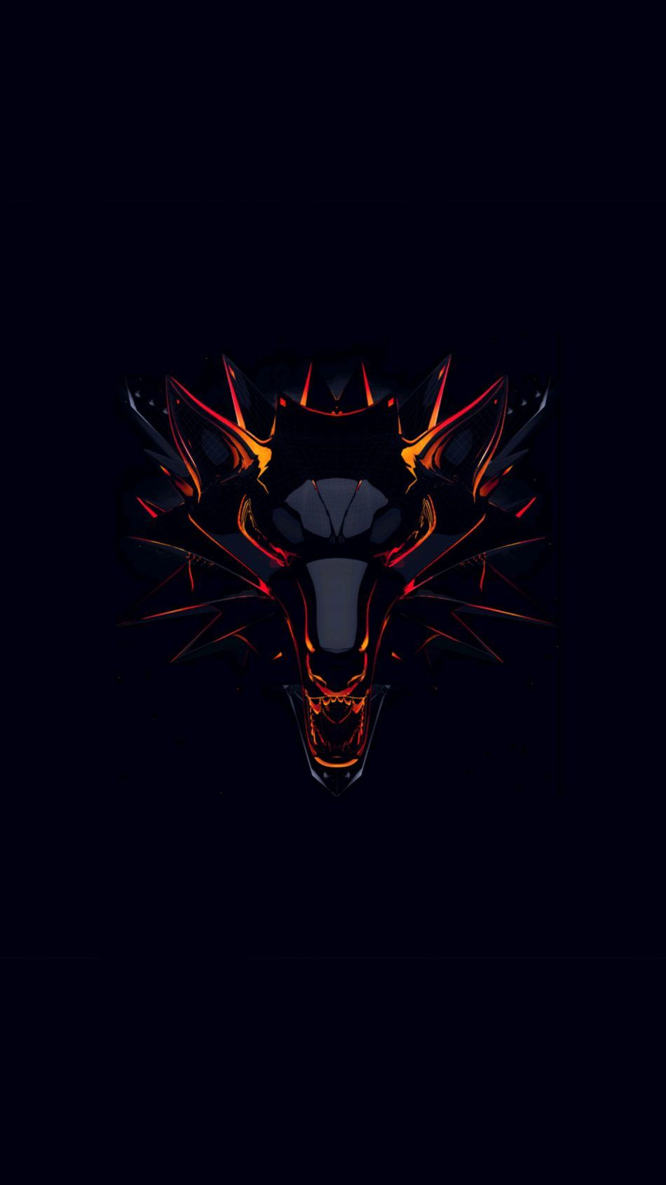 Witcher Dark Background Minimal Dark Wallpaper Hd Dark
