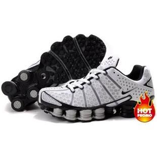 Find Authentic Men's Nike Shox TL Shoes White/Black/Grey online or in  Pumacreeper. Shop Top Brands and the latest styles Authentic Men's Nike Shox  TL Shoes ...