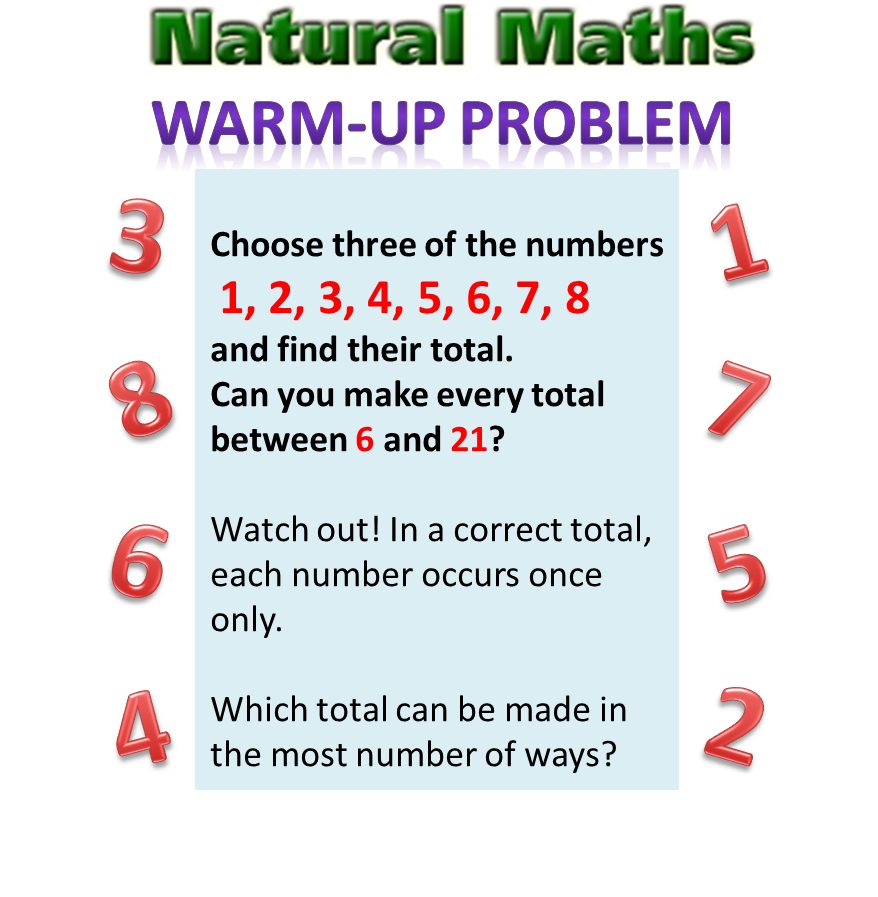 Natural Maths | School Math ideas | Pinterest | Math, Natural and ...