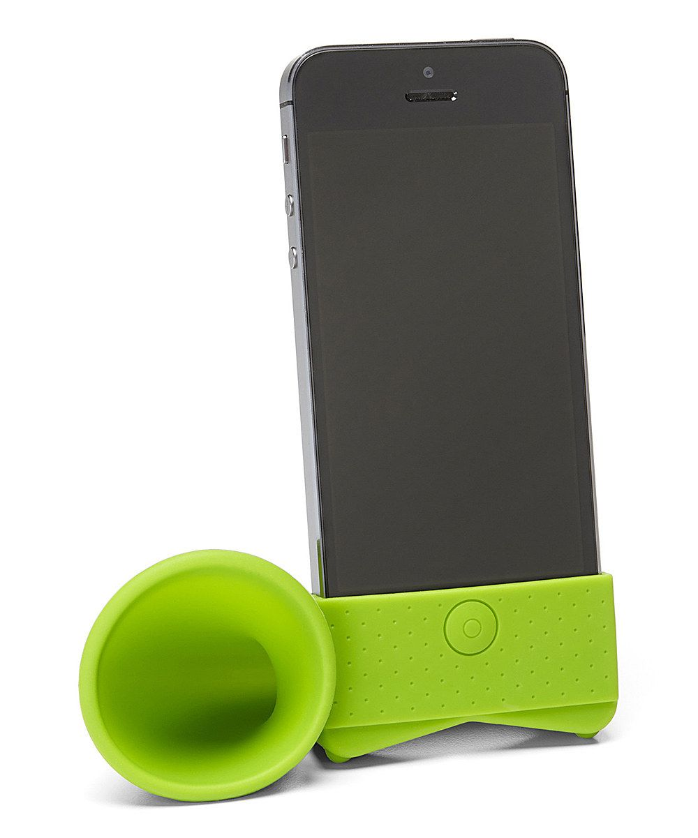 Love this Green Bullhorn Portable Speaker by C. Wonder on #zulily! #zulilyfinds if you don't have Bluetooth in your car this could come In Handy I.E grandparents