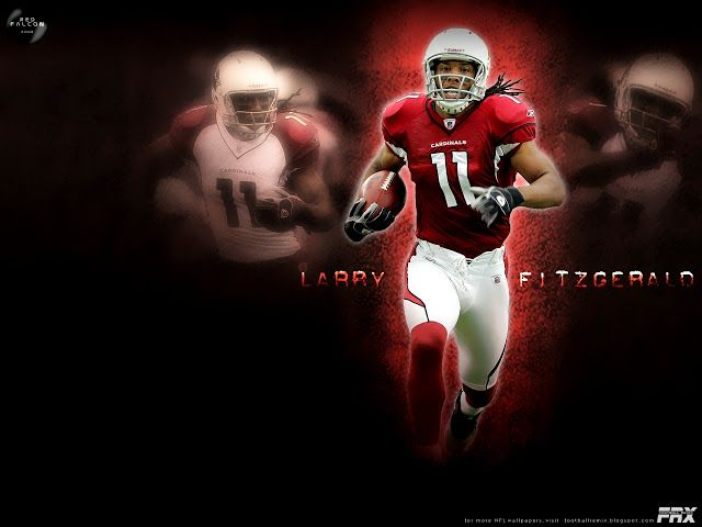 004 Multiple Sizes Available ** LARRY FITZGERALD ** POSTER