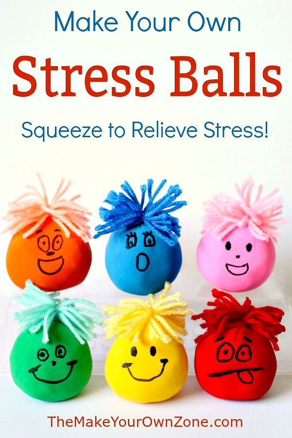 Got Stress? Make Your Own Stress Ball!