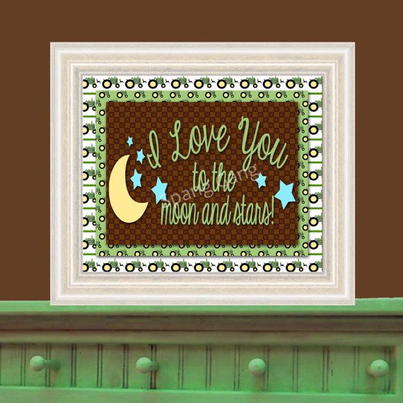 John Deere 8x10 Nursery Decor And Baby Shower By Spanggangdigital