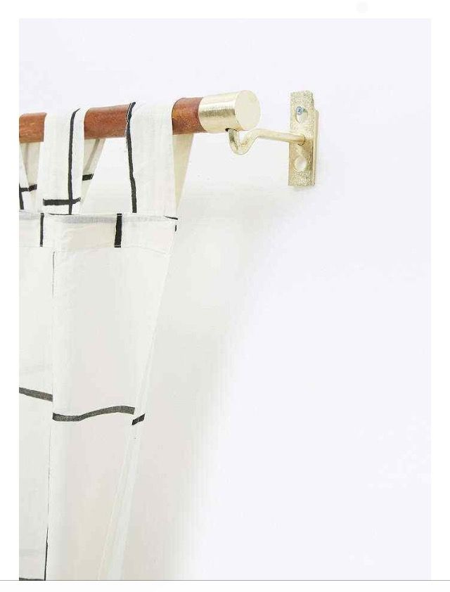 Single curtain rail from UrbanOutfitters