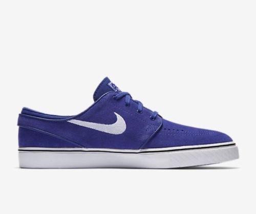 Nike SB Zoom Stefan Janoski Mens Skate Shoes 10.5 Deep Night White 333824  510  Nike  SkateShoes d20e1197dd6