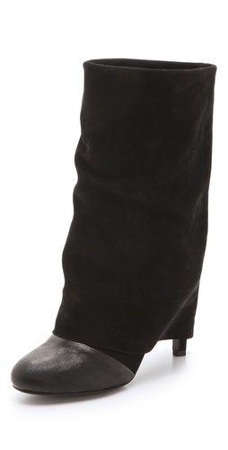 ad327f3c9fef See by Chloe Cuffed Mid Heel Boots