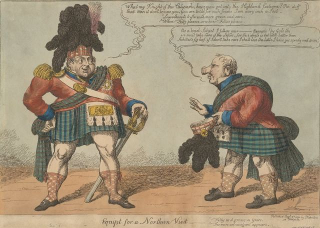 One and twenty daft days' in 1822: King George IV visits