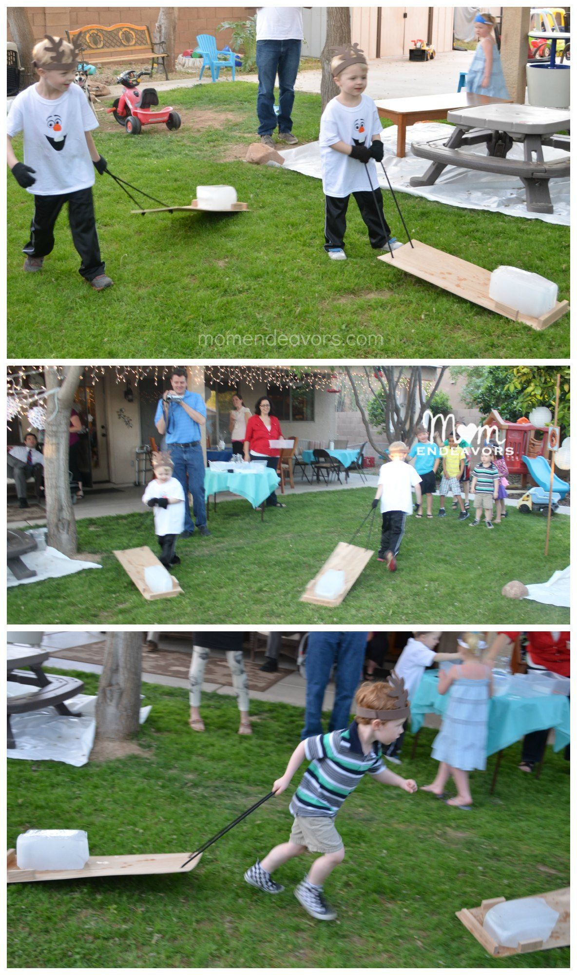 Disney Frozen Party Game especially good for boys We like to