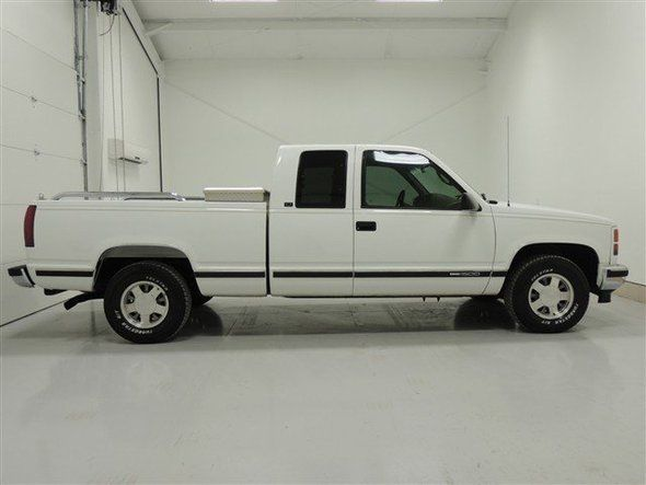 Used 1996 Gmc Sierra 1500 White Extended Cab Pickup Near Decatur Al Sierra 1500 Gmc Trucks Sierra Decatur