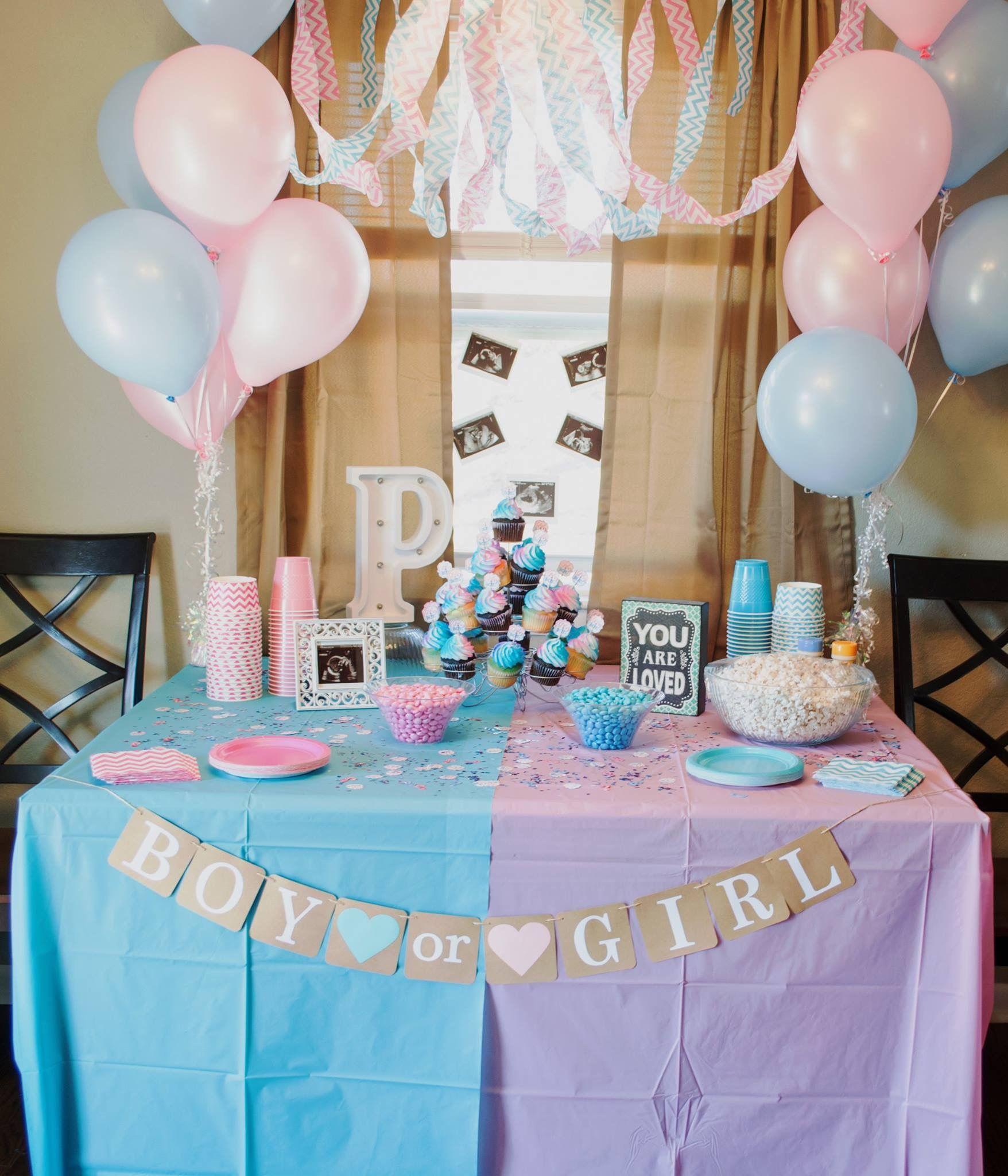 Gender reveal idea gender reveal decorations baby