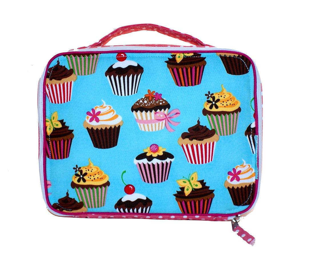 Cupcake Lunch Box by LiLiMcRiddles on Etsy