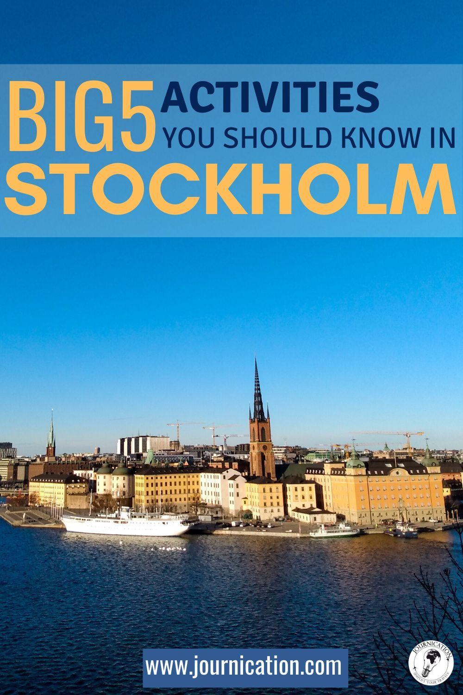 Stockholm Sweden Best Activities Things To Do Find Maps Checklists For A Perfect Weekend Getaw In 2020 Stockholm Sehenswurdigkeiten Stockholm Urlaub Reisen