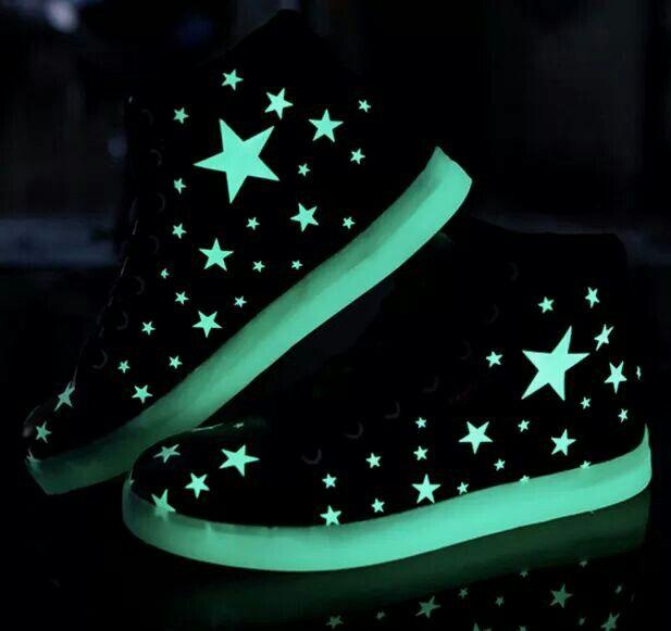 Tenis Brillan En La Obscuridad Star Shoes Sneakers Shoe Boots