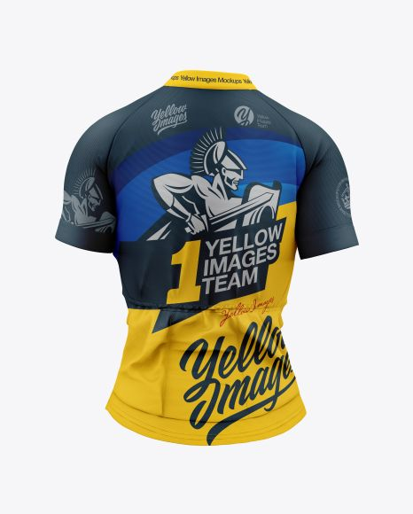 Download Women`s Cycling Jersey Mockup. Present your design on this ...