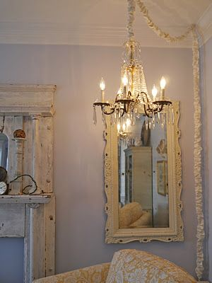 Hang A Chandelier On Hook In The Corner Of Room Over