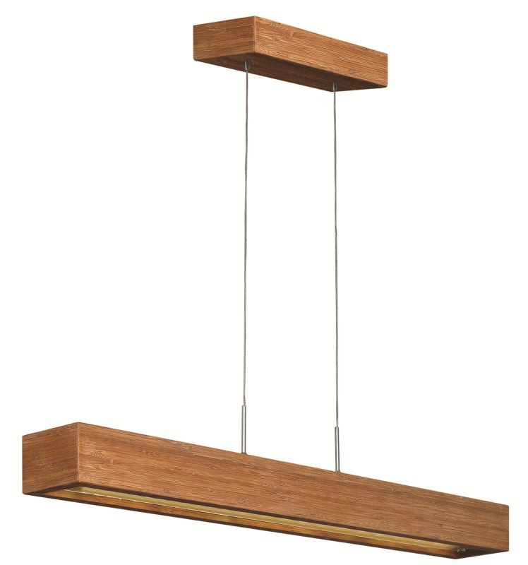 Zen Linear Suspension Features An Etched Glass Bottom