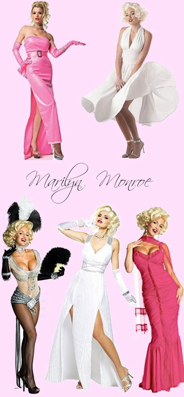 50 Vintage Halloween Costume Ideas  sc 1 st  Pinterest & 50 Vintage Halloween Costume Ideas | Marilyn monroe costume ...