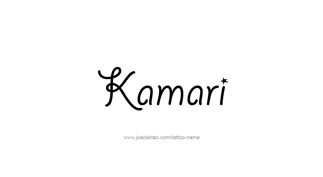 addb35db6d88c Kamari Name Tattoo Designs | Tattoo With Son Name | Name tattoo ...
