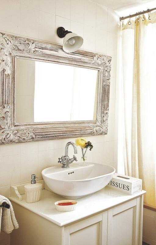 Atmosphere Sereine A Majorque Unique Bathroom Mirrors Vintage