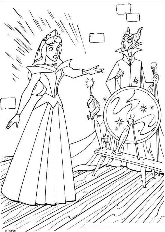Beauty Princess Aurora Coloring Pages Goruntuler Ile Boyama