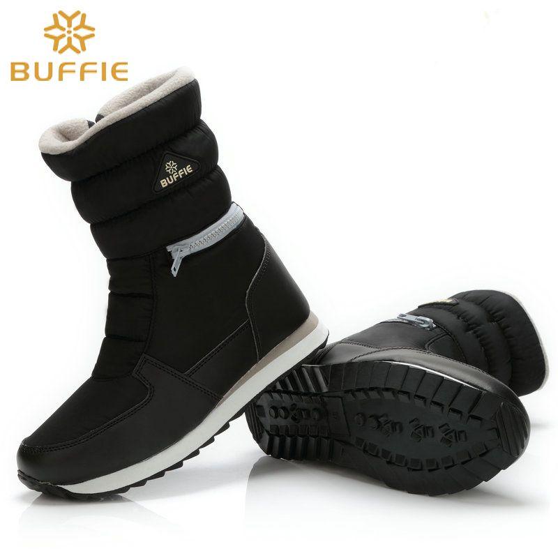 Buffie Брендовые женские зимние ботинки женские зимние сапоги на молнии  легко носить короткие версия Горячая 841c19aca04