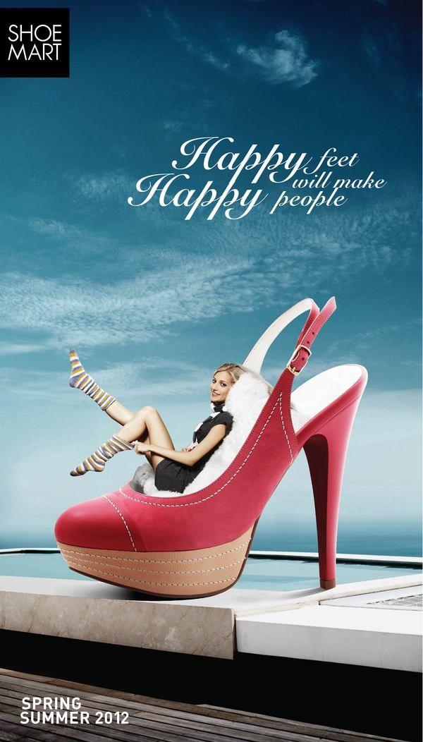Shoe-mart Promotional advertisement  411c4ace2f24