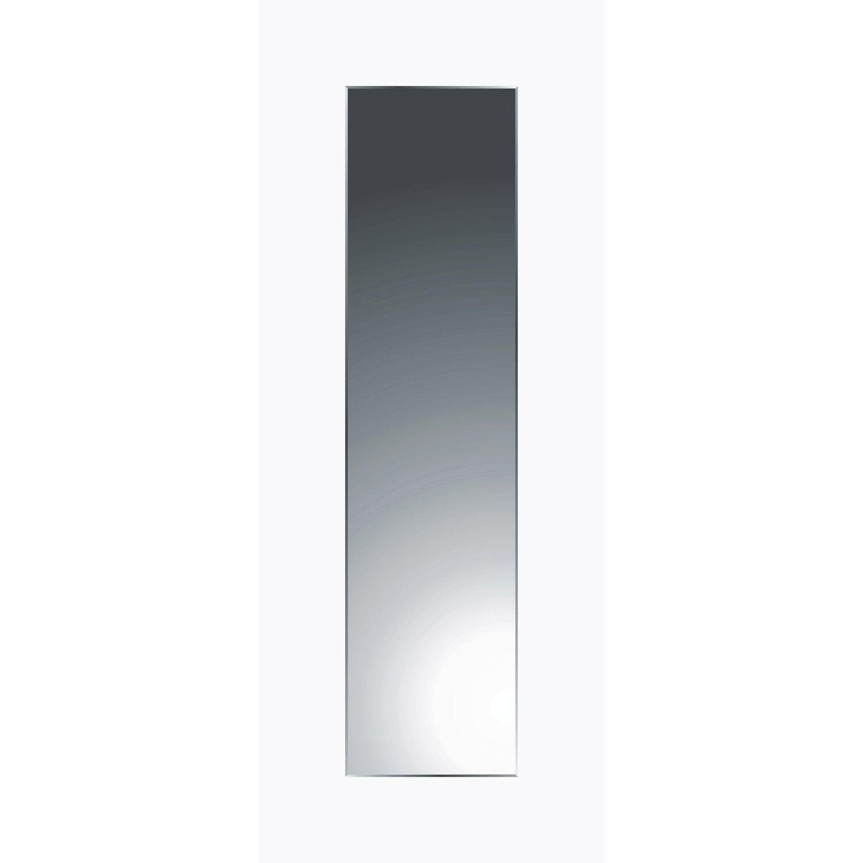 Miroir Non Lumineux Decoupe Rectangulaire L 30 X L 120 Cm Biseaute Sensea Miroir Miroir Rectangulaire Et Biseaute