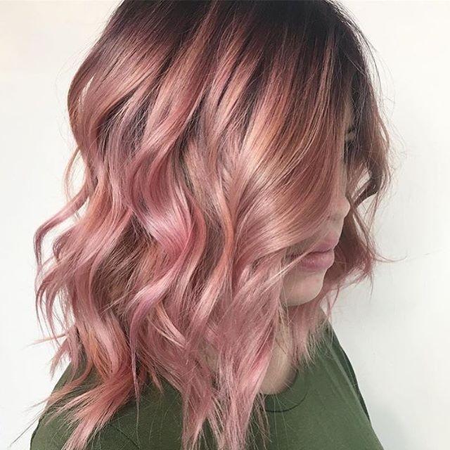 Textured pink 💕💕💕💕 #regram @styled_by_carolynn #americansalon