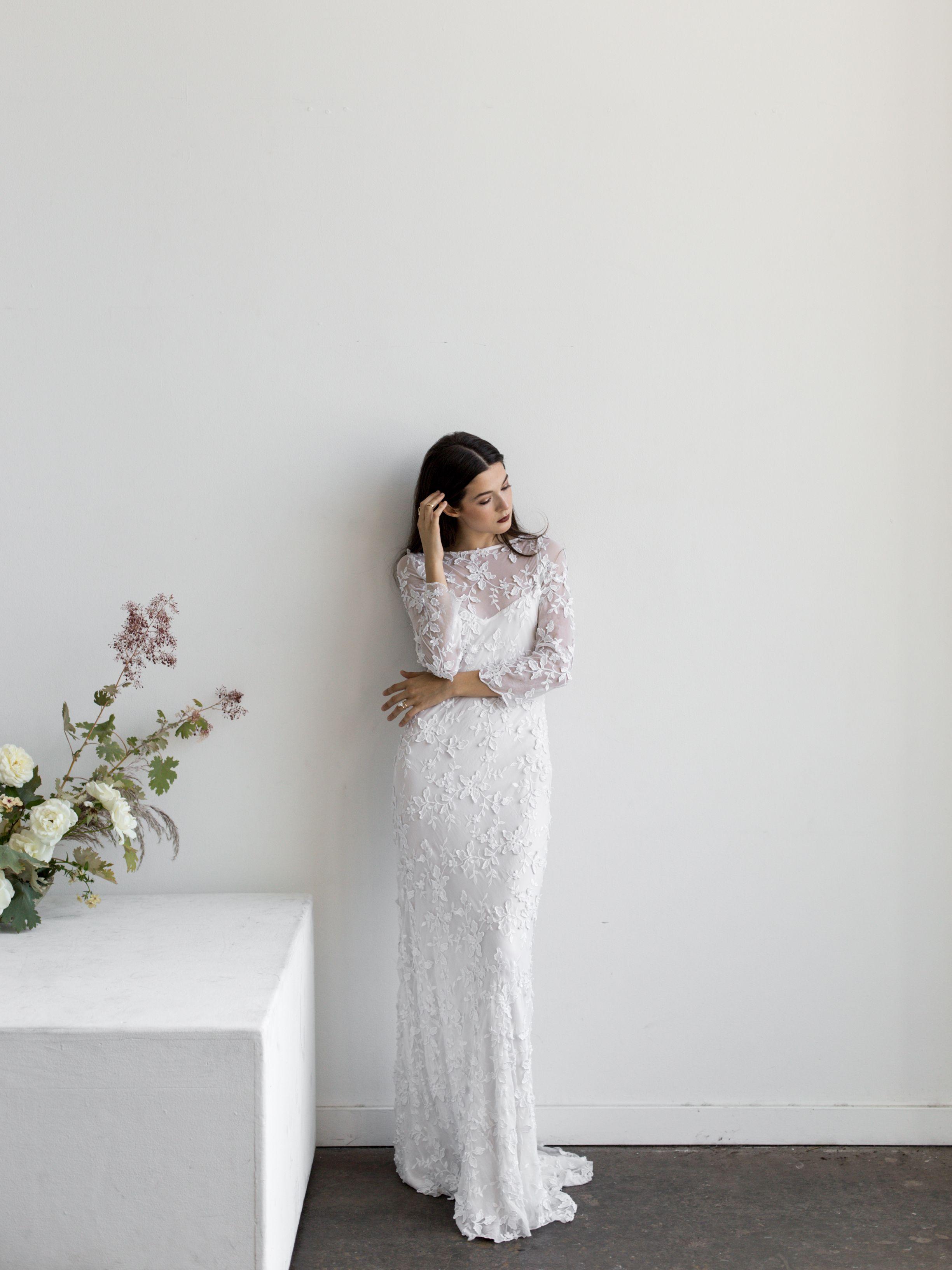 Lace Nellie Scott | Lena Medoyeff Studio | Bridal | Portland, Oregon ...