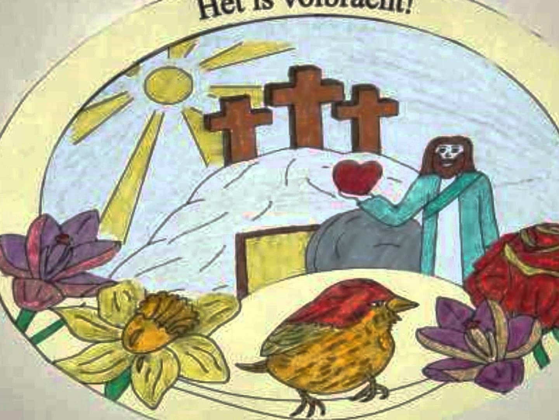 Knutselwerkje Pasen: Het is volbracht