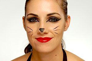Cat Whiskers Makeup - Mugeek Vidalondon