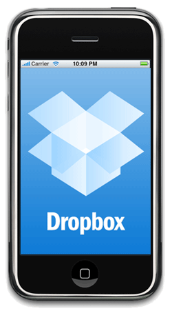 I use my Dropbox app several times a day. Love it Iphone