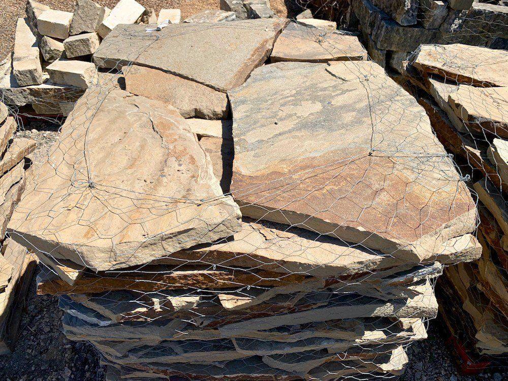 Flagstone pavers brown ok 2 pricepallet in 2020