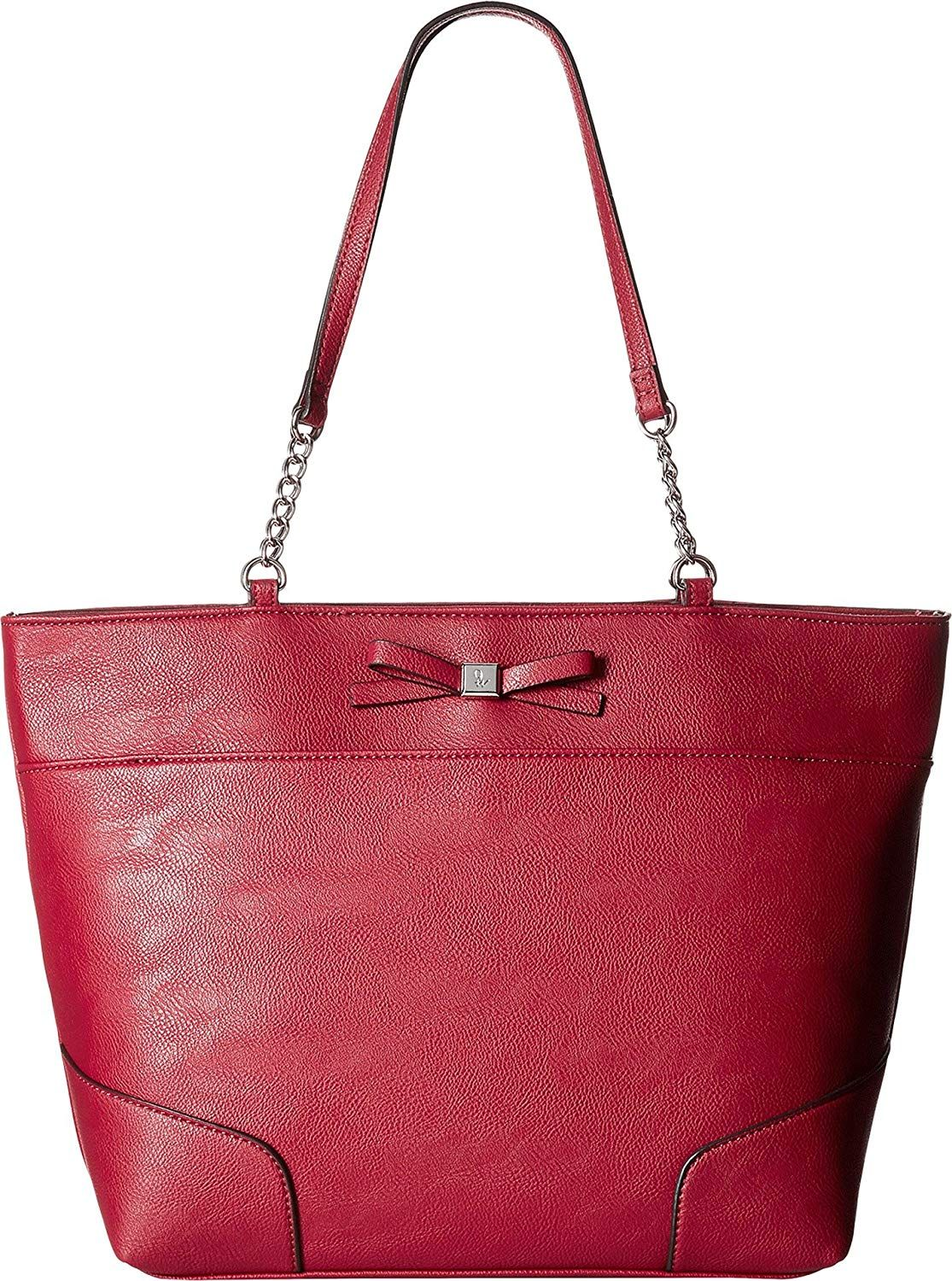 Nine West Women S Cyra Tote Ruby Red One Size Shoes